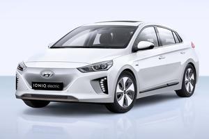 La Hyundai Ioniq Electric, également disponible dans une version hybride.