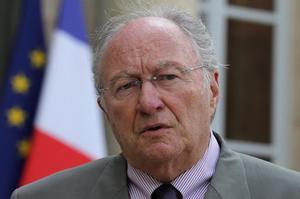 Le président du Crif Roger Cukierman, en 2013.