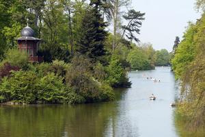 Lac du Bois de Boulogne.