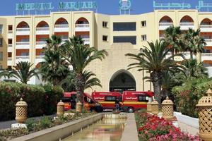 L'attentat contre cet hôtel touristique de Sousse a causé la mort de 38 personnes. Crédits Photo: Bechir Taieb.