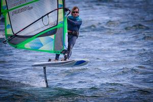 Le windsurf à foil (Loïc Olivier)