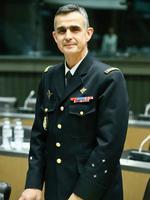Le Général Soubelet, le 18 décembre 2013, le jour de son audition à l'Assemblée nationale dans le cadre de la mission d'information relative à la lutte contre l'insécurité.