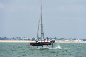 Démonstration en baie de Lorient (J. Gazeau)