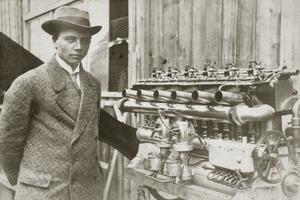Gustave Otto, l'un des fondateurs de BMW.