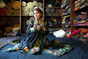 L'atelier Jigma Couture à Leh.
