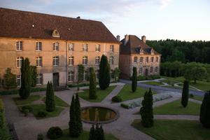L'abbaye Notre-Dame d'Autrey.
