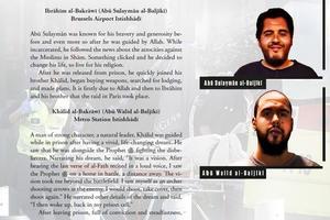 Les biographies post-mortem des deux frères Bakraoui dans <i>Dabiq</i>.