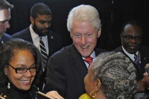 Bill Clinton le 7 avril à Philadelphie.