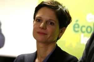 Sandrine Rousseau, actuelle porte-parole d'EELV, le 12 février 2016.