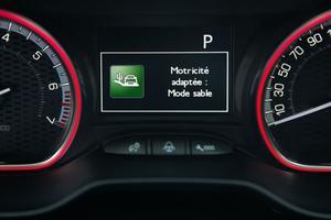 Peugeot propose, en option, une aide électronique à la motricité.