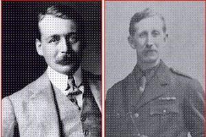 Le Britannique sir Mark Sykes et le Français François Georges-Picot.