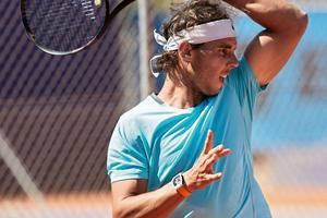 Rafael Nadal et sa Richard Mille préférée.