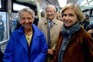 Elisabeth Borne, Vincent Bolloré et Valérie Pécresse