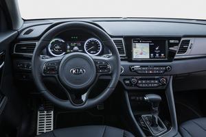 La finition de l'intérieur est traitée sur le mode germanique: on se croirait presque dans une Audi!