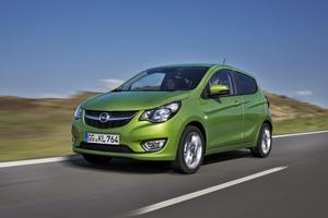 L'Opel Karl roule au GPL.