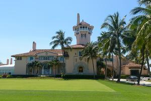 La résidence secondaire de Donald Trump, à Mar-a-Lago, en Floride, est aussi un club privé pour milliardaires.
