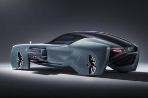 Le concept Rolls revêt l'allure d'un coupé.