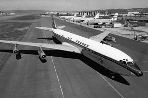 «Château de Versailles», le premier Boeing 707 d'Air France (Collection Air France. DR).