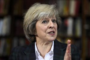Theresa May, l'eurosceptique fidèle de Cameron.