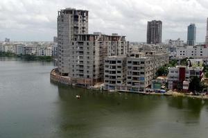Le quartier de Gulshan, où la prise d'otages a eu lieu.