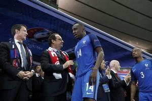 Blaise Matuidi était inconsolable dimanche suite à la défaite en finale de l'Euro.