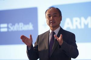 Masayoshi Son, PDG et fondateur de SoftBank.