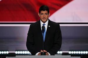 Paul Ryan, mardi soir à Cleveland.