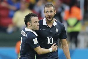Mathieu Valbuena et Karim Benzema ont toujours donné l'impression de bien s'entendre sur le terrain.