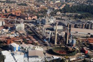 Le site industriel de Gardanne, ici en novembre 2011.