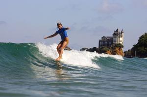 Biarritz accueille du22au30octobre 2016 les championnats deFrance de surf.