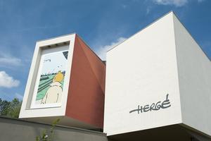 Le Musée Hergé deLouvain-la-Neuve.