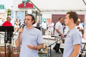 Les deux fondateurs de la chaîne Everytable, Sam Pol et David Foster.