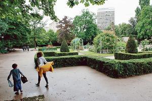 Le square Le Gall.