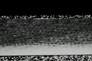 Première image renvoyée depuis la surface de la planète rouge, par la sonde Mars 3 le 2 décembre 1971.