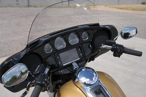 Un écran de navigation intégré.