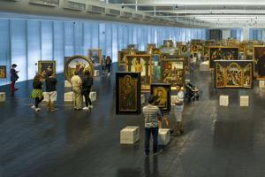 Le MASP, Museu de Arte de Sao Paulo, fait partie du parcours de la 32e Biennale.