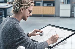 Le Surface Studio et sa molette.