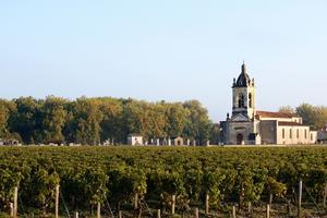 Vieilles pierres et pieds de vignes: le charme du vignoble bordelais. ©Deepix.
