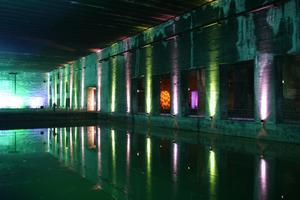 Atmosphère étrange dans la base sous-marine. ©Mairie de Bordeaux.