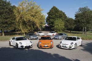 Quelques-uns des modèles de 911 parmi les plus sportifs proposés à la vente.