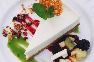 Le cheesecake de Rachel Moeller.