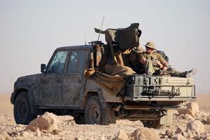 Les Forces démocratiques syriennes bénéficient également du déploiement au sol de forces spéciales américaines, au nombre de 400.