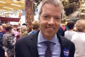 Le directeur de campagne du milliardaire, Eric Branstad, fils du gouverneur de l'Iowa Terry Branstad.