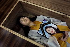 <i>Apprentissage de la mort</i>, de Françoise Huguier, Séoul, Corée, 2014.