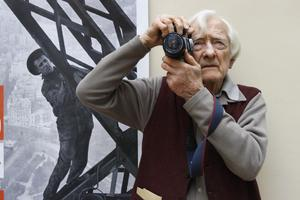 Le photographe Marc Riboud en 2009.