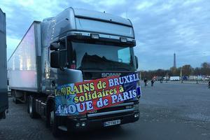 Des forains belges sont venus en soutien