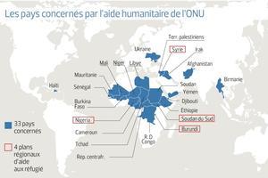 Source: Bureau de la coordination des affaires humanitaires de l'ONU (OCHA)