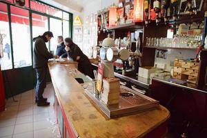 Café du château, chez César et Paulo.