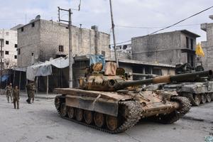 Les forces pro-régime avancent inexorablement à Alep-Est.