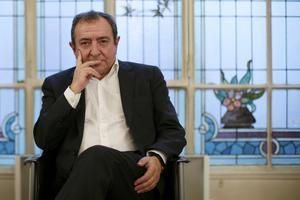 Patrick Maisonneuve dans son bureau (Photo Reuters / GONZALO FUENTES)